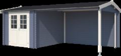Outdoor Life Products | Buitenverblijf Ivana 275 Plus | Pigeon Blue | 595x295