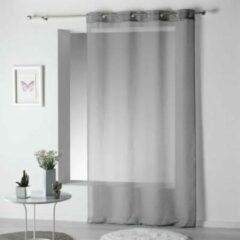 Livettti.NL Livetti | Vitrage - Net Curtain | 140x240 | Grijs | Polyester | 1625406