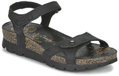 Beige Panama Jack Sulia Basics dames sandaal - Zwart - Maat 41