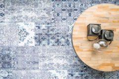 Ginore Vintage Vloerkleed Patchwork - Deco Noon - 280x380 Donkerblauw Tapijt