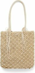Beige Summer Crochet Bag natural Riviera Maison 451560
