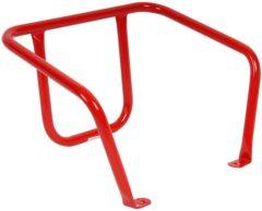Rode Talen Tools ijzeren rugsteun voor slede
