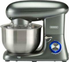 Bourgini Kitchen Chef Plus 5.5L Grey - keukenmixer - grijs - keukenmachine
