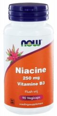 Now Foods Now Niacine Flush Vrij 250 Mg Trio (3x 90cap)