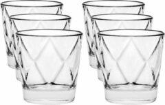 Vidivi 12x Luxe drinkglazen/waterglazen Concerto transparant 290 ml - Wijnglazen Concerto 290 ml