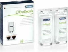 Delonghi ontkalker anti-kalk 2x 100ml anti kalk koffiezetapparaat espresso ontkalkings middel
