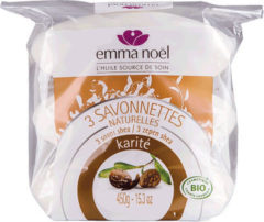 Emma Noel Emma Christmas Soap With Shea Butter Cosmebio - Bag With 3 X 150 G Or 450 G