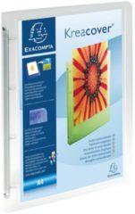 Exacompta Ringmap 4 ringen 30mm polypropyleen chromaline 10/10de Krea Cover - A4 maxi (51568E)