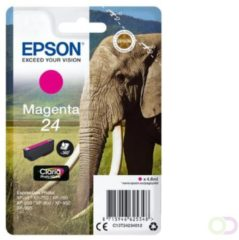 Epson Singlepack Magenta 24 Claria Photo HD Ink (C13T24234010)