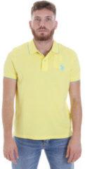Gele Polo Shirt Korte Mouw U.S Polo Assn. 58561 41029