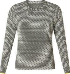 Grijze ES&SY Naomy Sweatshirt - Grey/Multi-Colour - maat 42