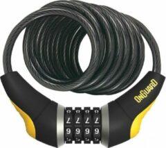 Onguard kabelslot Dobermann Combo 185 cm x 10 mm zwart