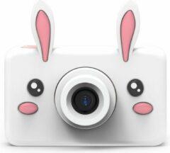 Roze The Zoo Family White Rabbit 24MP digitale kindercamera + Selfie Video