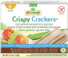 PROBIOS Srl Probios Altricereali Crispy Crackers Con Grano Saraceno E Quinoa 120g