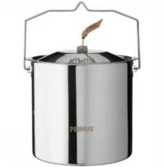 Grijze Primus Kookpan voor trekking Campfire Pot rvs 5 liter
