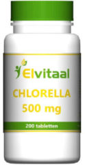How2behealthy - Chlorella 500mg 100% natuurzuiver - 200 tabletten