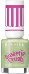 Rimmel London Sweetie Crush Special Effect Nail Colour - 010 Fizzy Appleicious - Groen - Nagellak
