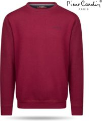 Pierre Cardin - Heren Sweater - Ronde Hals - Bordeaux Rood