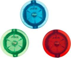 Rode Benson Spaakverlichting - Fiets - LED - 3 stuks - Klik - Spaken - Donker - Wiel - 3 Kleuren - Siliconen