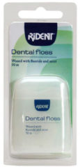 Rident Flosdraad Dental Floss Waxed Met Fluoride En Mint