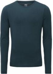 Marineblauwe Dhb hardloopshirt (lange mouwen) - Hardloopshirts (lange mouwen)