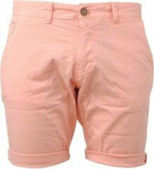Oranje Cars Jeans - Heren Short - Stretch - Tino - Peach