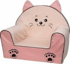 Roze Bubaba Kinderfauteuil - Peuterstoeltje - Kinderzetel Kitty