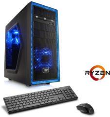 CSL Gaming PC | Ryzen 7 1700X | AMD RX 580 | 16GB DDR4 | 240GB SSD »Sprint T8794 Windows 10 Home«