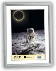 ZEP - Kunststof Fotolijst Basic Frame Zilvergrijs voor foto formaat 10x15 - KL1