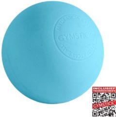Blauwe Gymstick Active myofascia massage bal - Met Online Trainingsvideo's