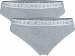 Chicamala - Dames String Grijs/Grijs - L