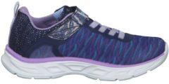 Sneaker S Lights Litebeams mit Bungee-Schnürung und Klettverschluss Skechers Navy/Lavender
