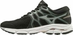 Mizuno - Wave Equate 4 - Dames - Zwart - Wit - Beige - Maat 40.5
