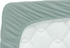 Groene Briljant Baby katoenen jersey hoeslaken 70x140 cm Stonegreen