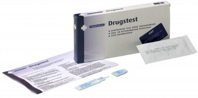 Afbeelding van Testjezelf.nu Drugstest amfetamine (speed) 6 Stuks