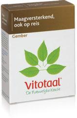 Vitotaal Gember 45 vegicaps