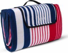 Rode Sens Design Picknickdeken 200x200cm – Waterdicht picknickkleed XL