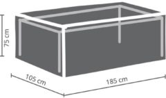 Antraciet-grijze Maxx BUITENHOES VOOR TAFEL TOT 180 cm
