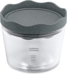 Koziol Bewaarbox Prince 0,3 Liter 11 Cm Donkergrijs/transparant