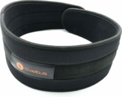 Zwarte Weightlifting belt SVELTUS 94001