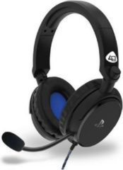 4Gamers - PRO 4-50S PS4 Gelicentieerd Bedrade Stereo Gaming Headset Zwart
