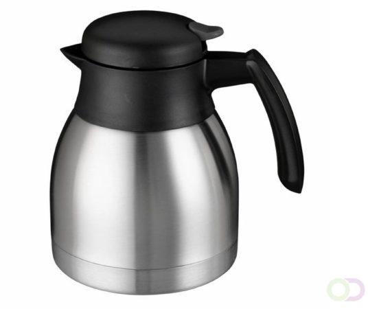 Afbeelding van Roestvrijstalen Thermoskan bravilor rvs 1,2 liter zwart
