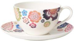 Frühstückstasse mit Untere Anmut Bloom Villeroy & Boch Weiß