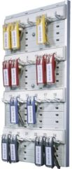 Grijze Durable Hunke & Jochheim | ESVSHOP.nl DURABLE Key Board 24, grijs, kunststof, 275x400 x 365 mm, 0, 6 kg Kunststof
