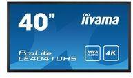 Iiyama ProLite LE4041UHS-B1 - 102 cm (40'') Klasse (100.3 cm (39.5'') sichtbar) LED-Display LE4041UHS-B1