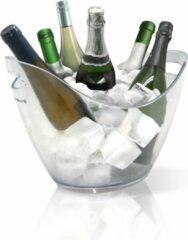 Vin Bouquet Veluw Horeca Wijnkoeler voor 6 flessen - Kunststof - Transparant - 35x27x(H)26cm