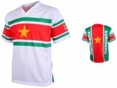 Groene Merkloos / Sans marque Suriname Voetbalshirt Thuis-104