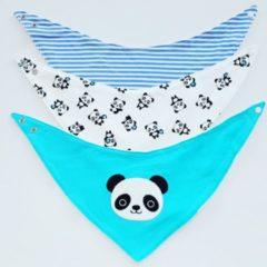 Wasbareluiers.eu Puntslab set panda