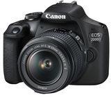 Canon EOS 2000D - Digitalkamera EF-S 18-55-mm-IS-II-Objektiv