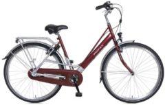Popal 28 ZOLL CITY FAHRRAD 3 GANG CLASSIC 2894 Citybike Damen rot